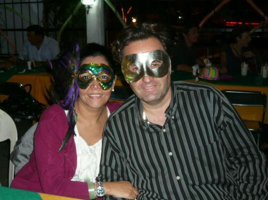 Carnaval au Cumbanchero, 18 février 2011.