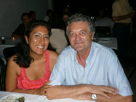 Chez Betzabé y Gerardo.